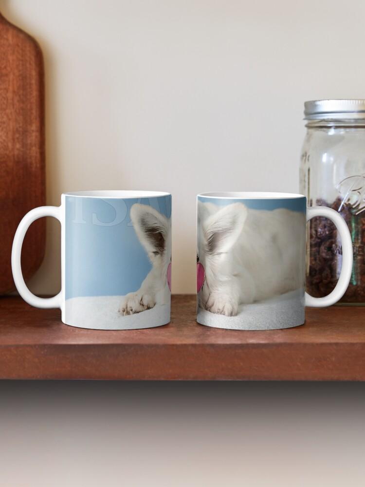 Alternate view of Loves Glasses or Hates Walks Mug