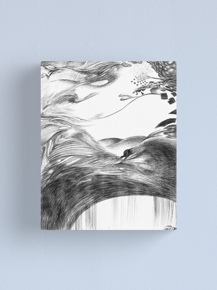 Alternate view of Nothing Canvas Print
