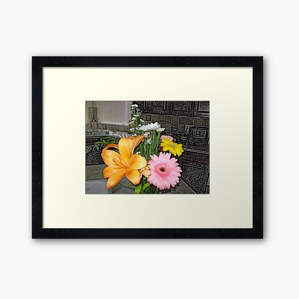 A Bouquet For Me Framed Art Print