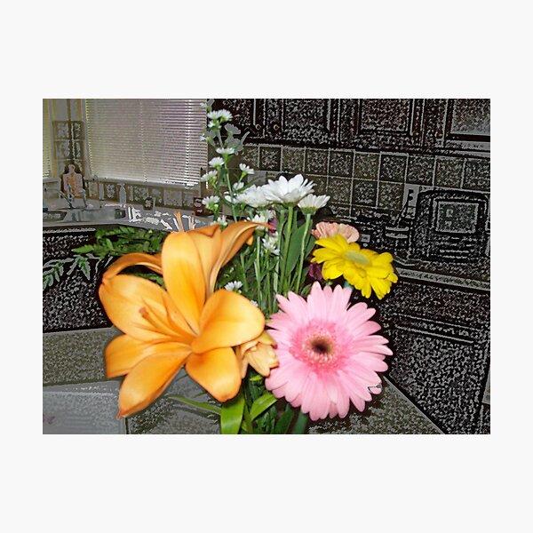 A Bouquet For Me Photographic Print