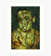 Broken - (Image, Poem, Music) Art Print