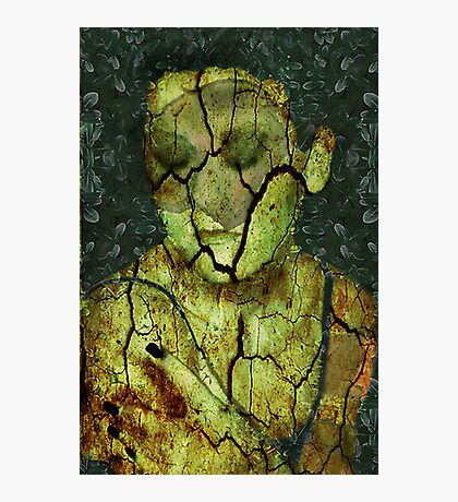 Broken - (Image, Poem, Music) Photographic Print