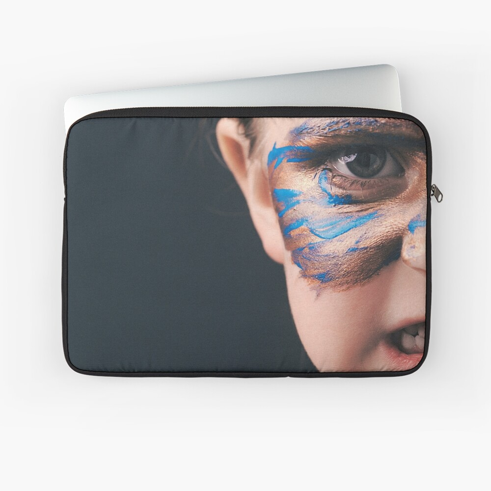 Would You Rather Be An Unknown Superhero or a Famous Villain Laptop Sleeve