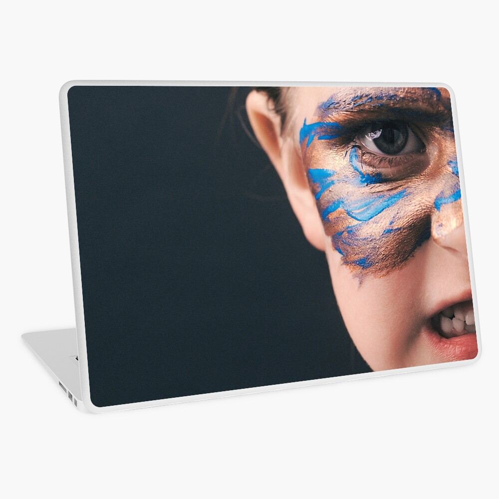 Would You Rather Be An Unknown Superhero or a Famous Villain Laptop Skin