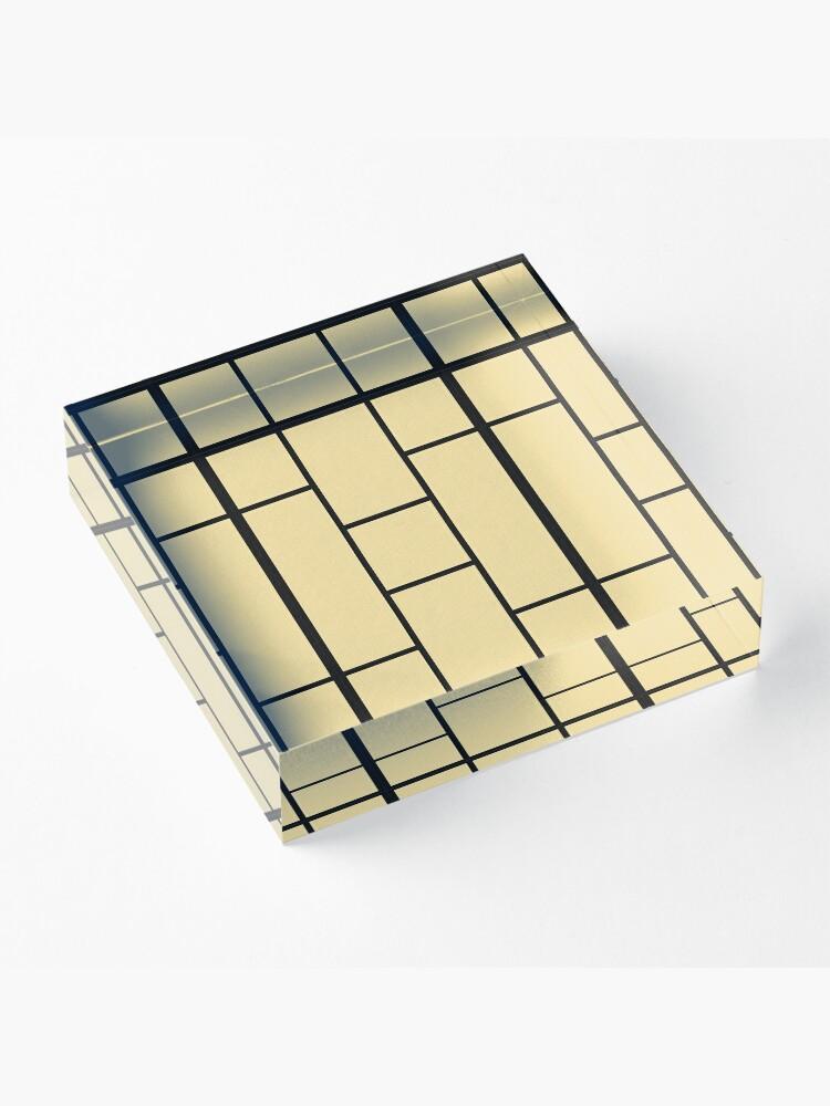 Alternate view of Tatami Acrylic Block