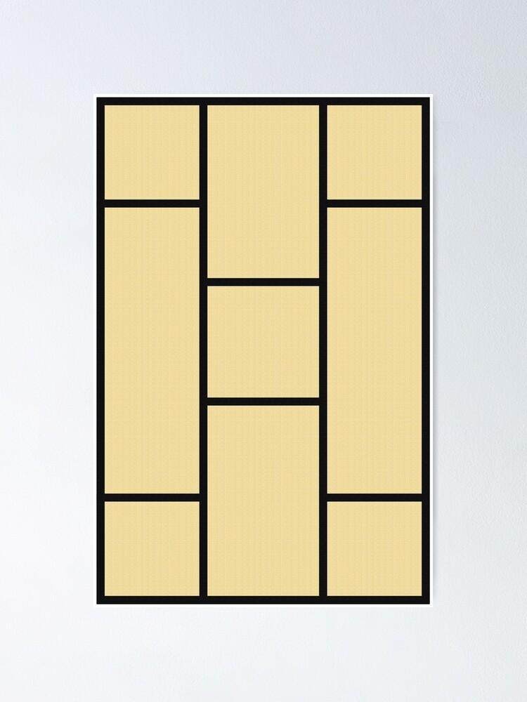 Alternate view of Tatami Poster