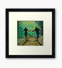 With you...forever Framed Print