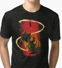 Der Zauberer und der Dämon Vintage T-Shirt
