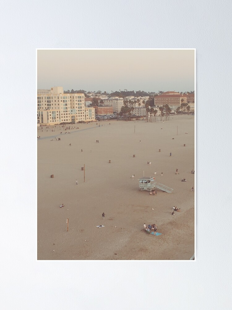 Aesthetic Beach Poster By Byrb420 Redbubble