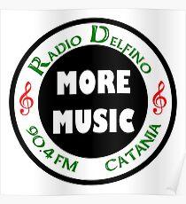 Radio Delfino 90.4 FM Catania Poster