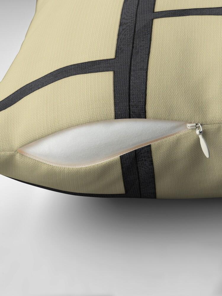 Alternate view of Tatami Throw Pillow