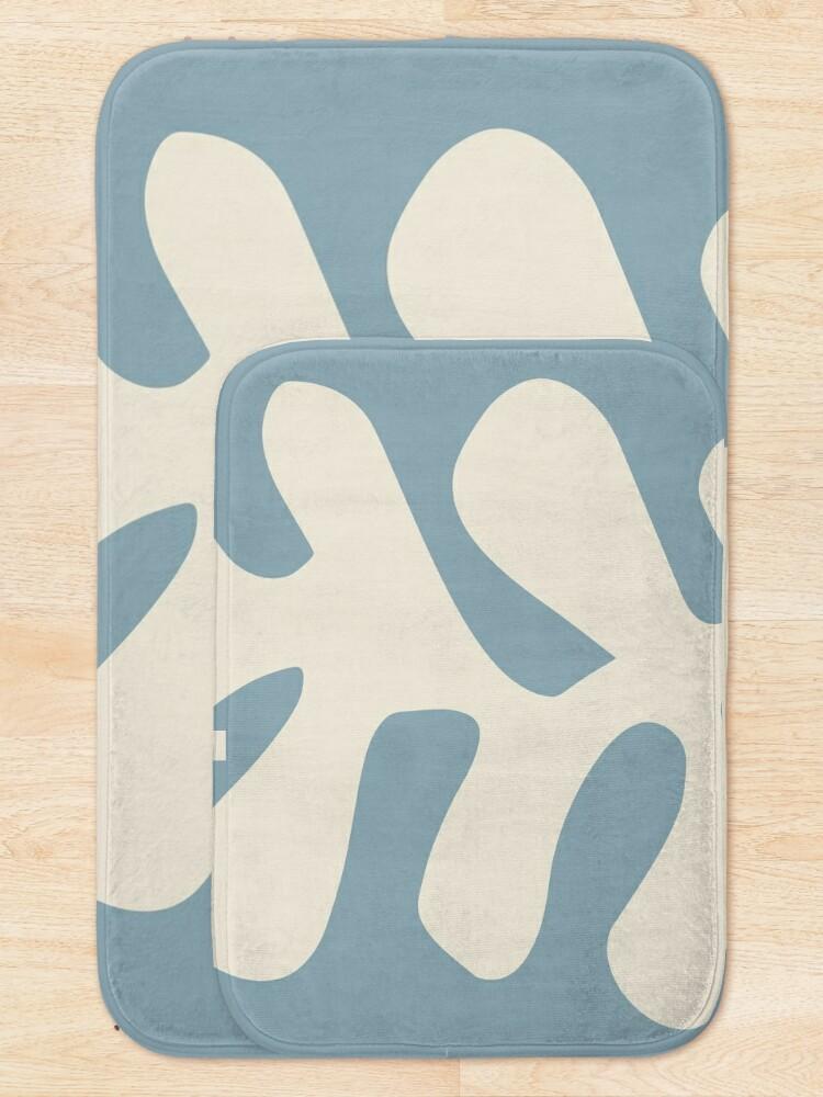 Alternate view of Henri Matisse, Papiers Découpés (Cut Out Papers) 1952 Artwork Bath Mat