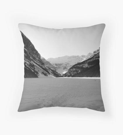 Lake Louise, Alberta, Banff National Park Throw Pillow
