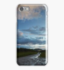 The Hill in the Distance After the Rains iPhone Case/Skin