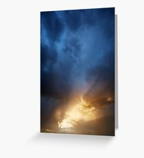 Hole in the Sky Greeting Card