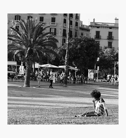 Lost in thoughts Photographic Print