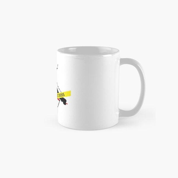 Crime scene mosquito Classic Mug