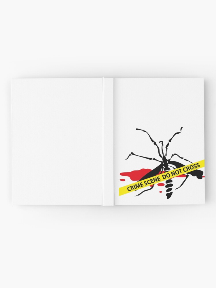 Alternate view of Crime scene mosquito Hardcover Journal