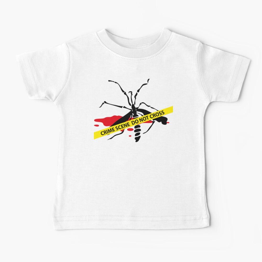 Crime scene mosquito Baby T-Shirt