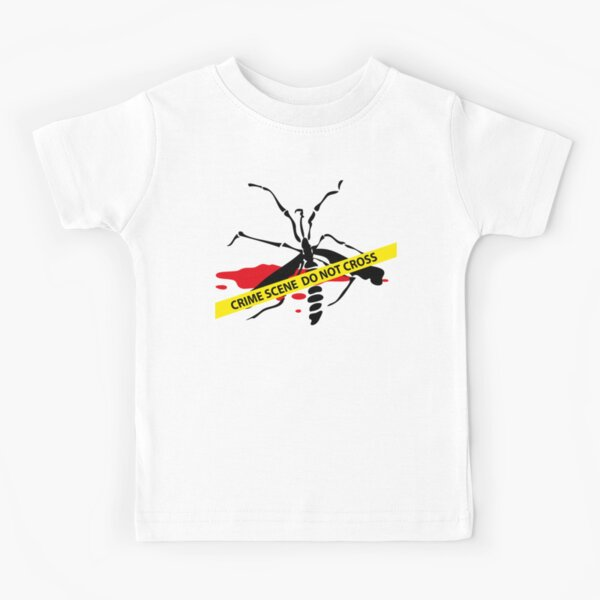Crime scene mosquito Kids T-Shirt