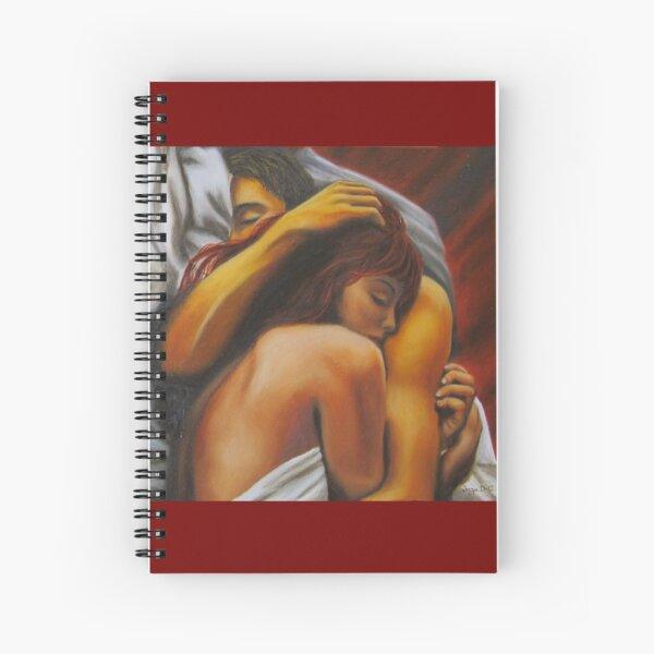 Keep Me Safe Spiral Notebook