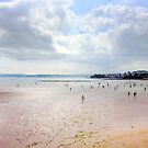 Torquay Beach two by DARREL NEAVES