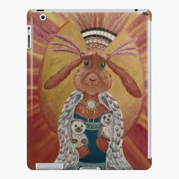 The Great Feathered Rabbit and Happy Hedgehogs iPad Snap Case