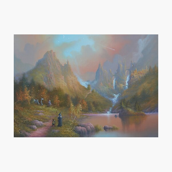The Path Of The Elves Photographic Print