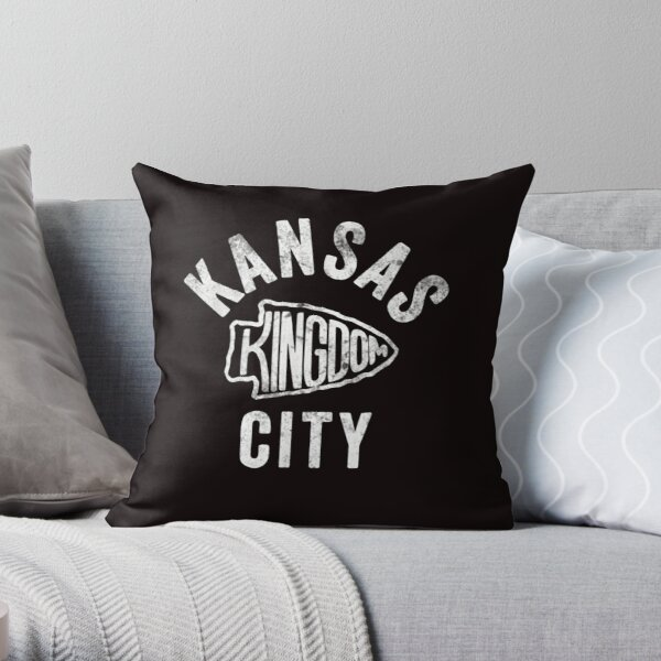 Kansas City Kingdom Football 2020 T shirt Throw Pillow