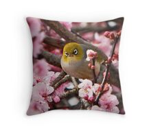 Lost in Blossom Throw Pillow