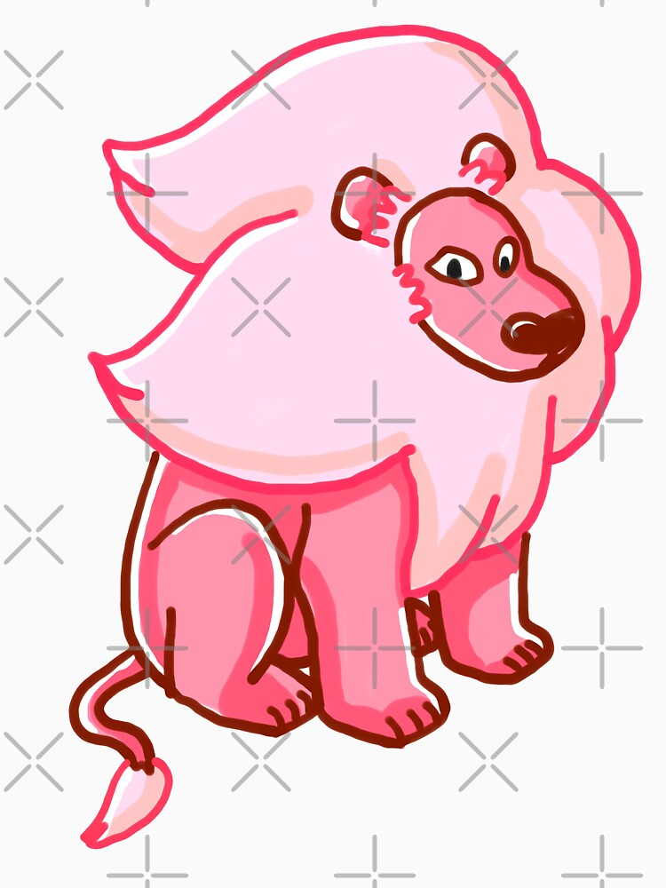 Lion from Steven Universe™ with Pink Highlights by sketchNkustom