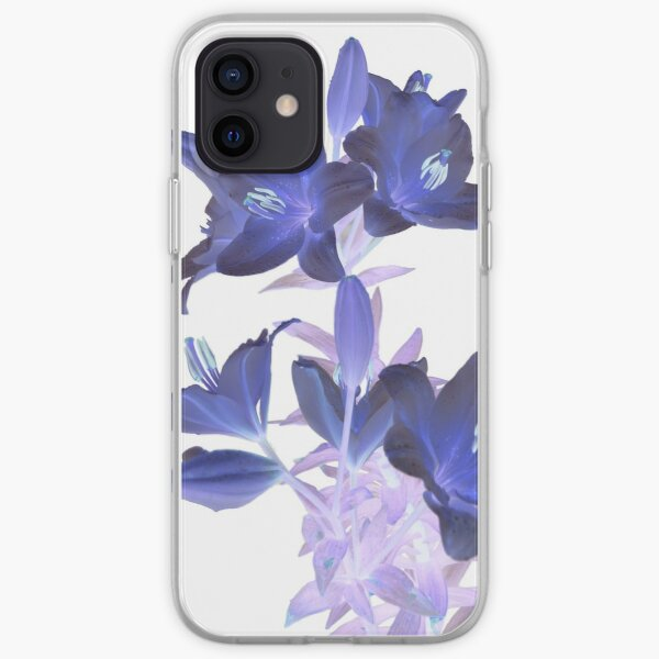 Lilies on a White Background iPhone Soft Case