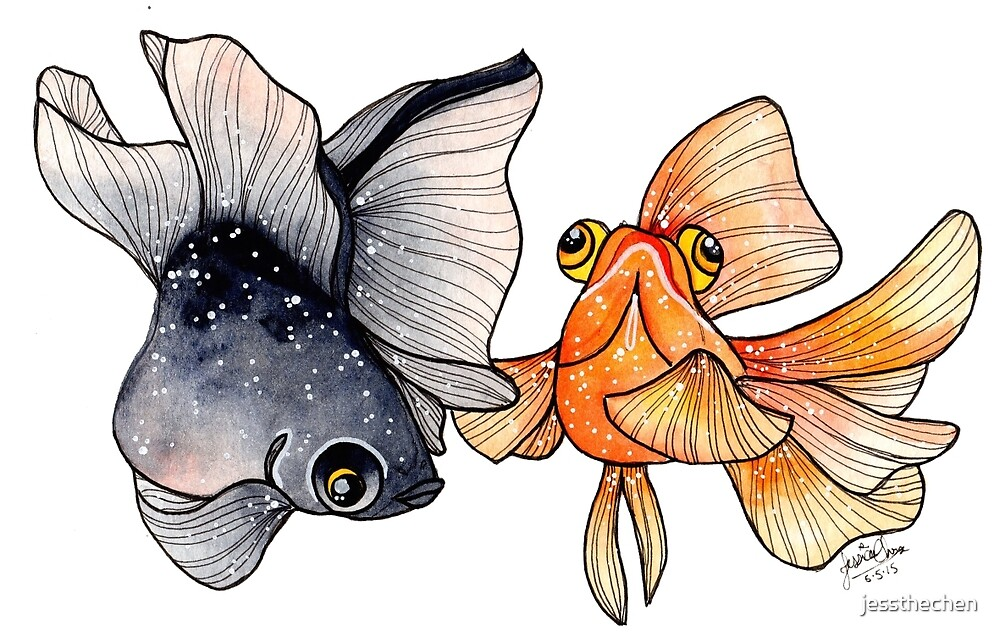 Goldfishes by jessthechen
