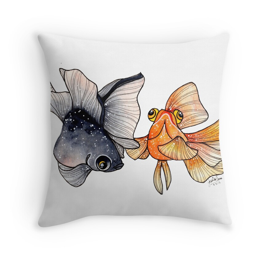Goldfishes | Throw Pillow