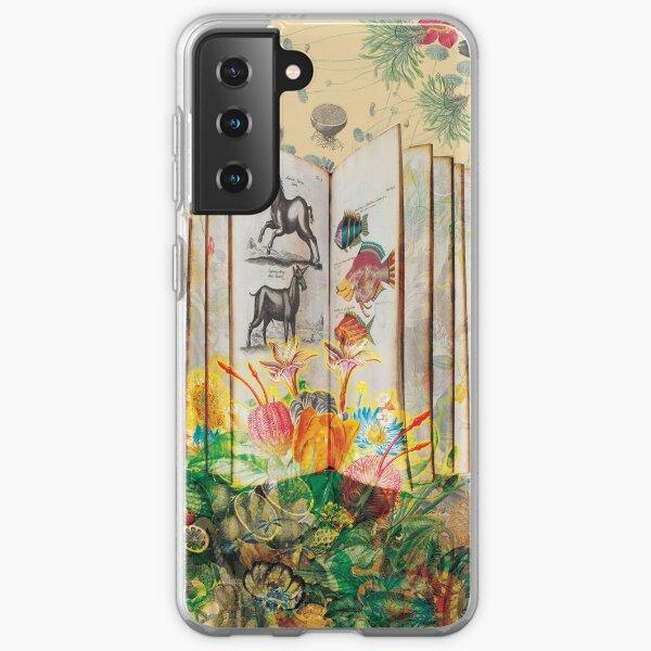 Literary Fauna & Flora Samsung Galaxy Soft Case
