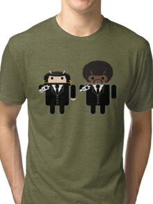 """Say """"Droid"""" one more time... Tri-blend T-Shirt"""
