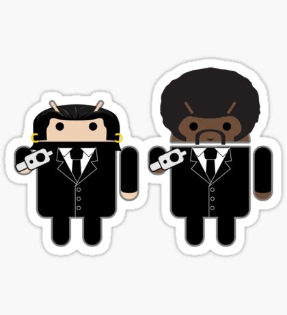 """Say """"Droid"""" one more time... Sticker"""