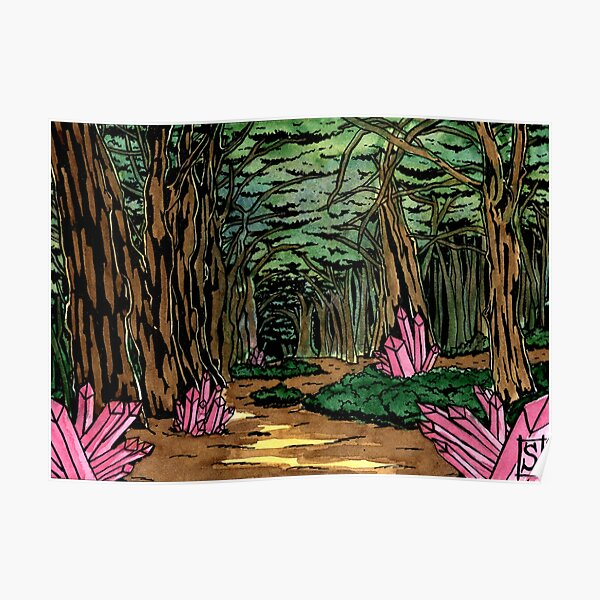 La forêt enchantée Poster