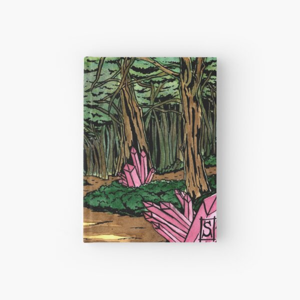 The enchanted forest Hardcover Journal