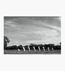 Airstream Ranch Photographic Print