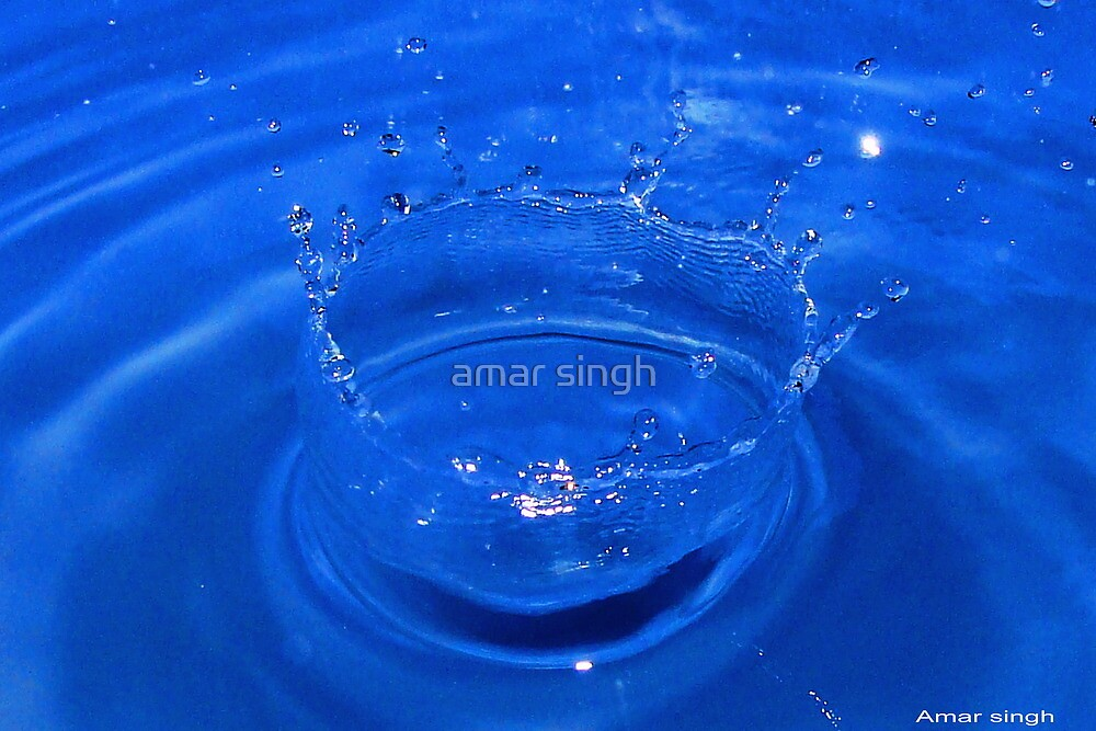 water collision by amar singh