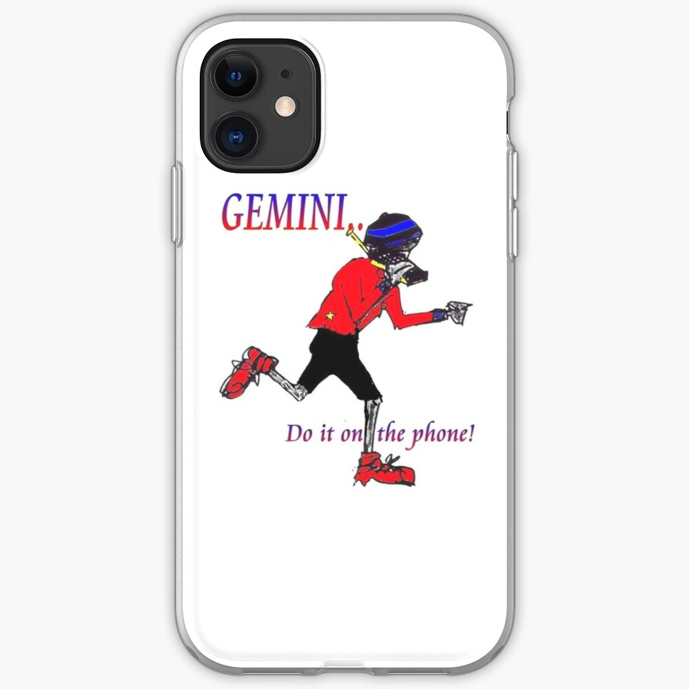 Gemini - do it on the phone iPhone Case & Cover