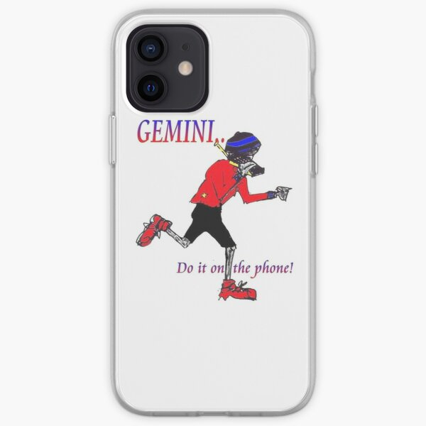 Gemini - do it on the phone iPhone Soft Case