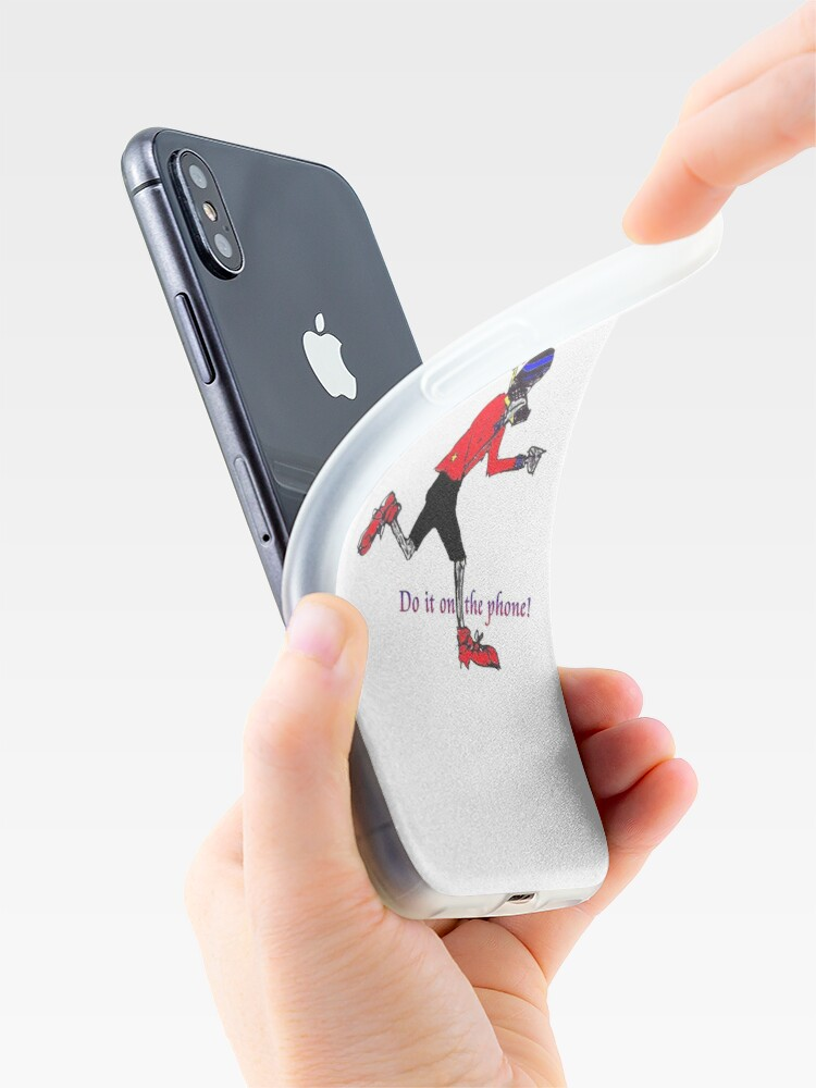Alternate view of Gemini - do it on the phone iPhone Case & Cover