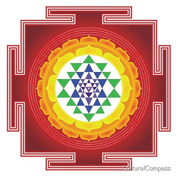 Sri Yantra Series by CulturalCompass