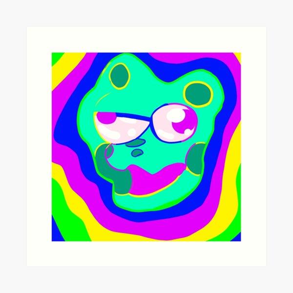 Melty Turtle Art Print
