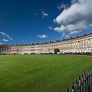 The Royal Crescent, Bath, England by Ann Garrett