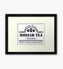 MoriarTea Framed Print
