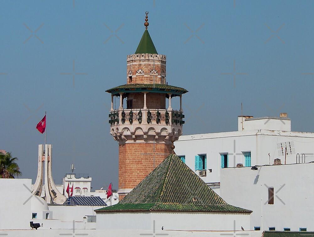 Sidi Youssef Mosque by Tom Gomez