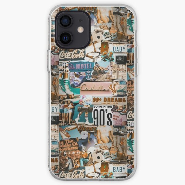 Indie 90s Collage iPhone Soft Case